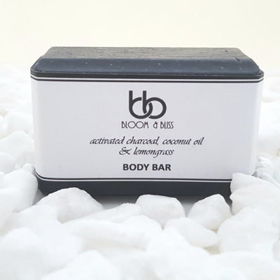 Activated Charcoal Face and Body Bars